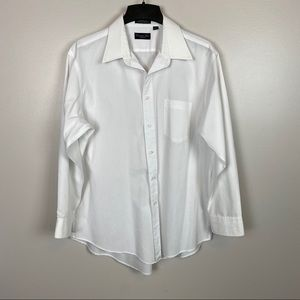 Christian Dior Monsieur White Pocketed Dress Shirt